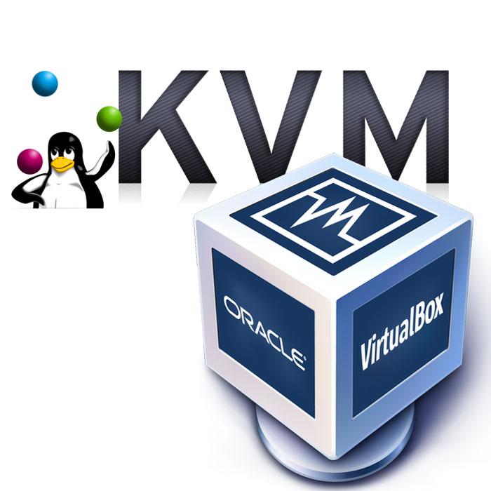 KVM ou Virtualbox pour virtualiser sous Linux ?