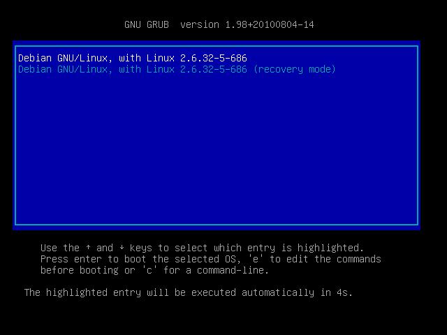 Bug «unaligned pointer» en bootant Debian Squeeze sous KVM
