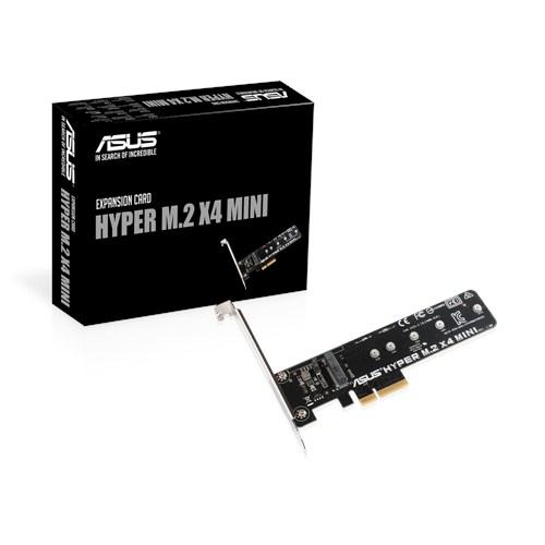 Test adaptateur Asus Hyper M.2 X4 Mini