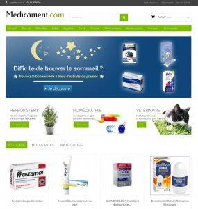Copie d'écran Medicament.com (2017)