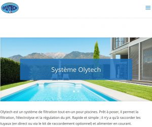 Site internet Olytech