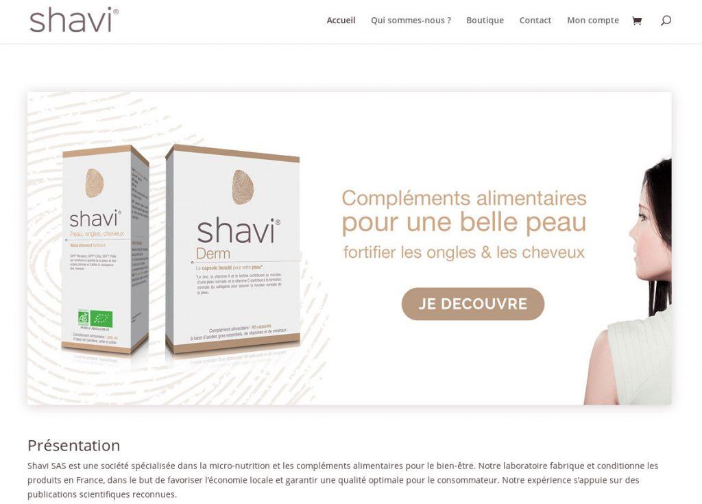 Shavi.fr, quand sobriété rhyme avec fonctionnalité