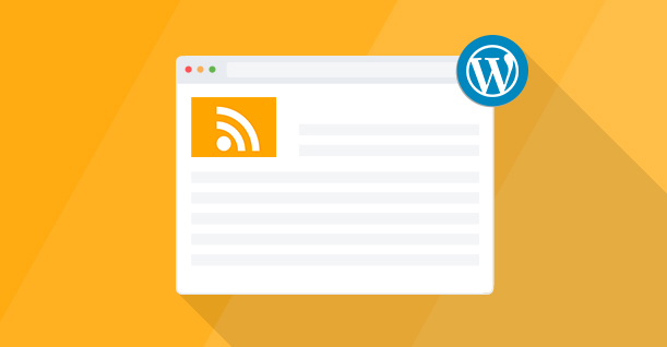 Modifier le template de flux RSS WordPress proprement