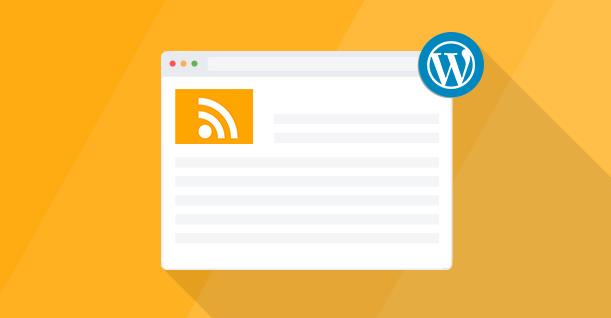 Modifier le template de flux RSS WordPress proprement